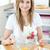 yumurta · kadın · eller · gıda · ev · tablo - stok fotoğraf © wavebreak_media