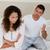casal · argumento · cara · fundo · jovem · louco - foto stock © wavebreak_media