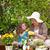 gyermek · idős · nő · virágok · jobb · növekedés · nő - stock fotó © wavebreak_media