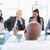 gestionnaire · employé · communiquer · réunion · plein · équipe - photo stock © wavebreak_media