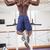 Male body builder doing pull ups at gym stock photo © wavebreak_media