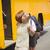 autobús · escolar · nino · elemental · educación · transporte · sesión - foto stock © wavebreak_media