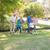 familia · jugando · fútbol · parque · verano · familia · feliz - foto stock © wavebreak_media