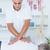 beteg · fizioterápia · masszázs · nő · férfi · sportok - stock fotó © wavebreak_media