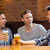 heureux · amis · bière · bar · communication - photo stock © wavebreak_media
