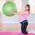 pregnant woman holding exercise ball stock photo © wavebreak_media
