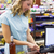 woman at cash register paying with credit card stock photo © wavebreak_media