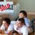 Family buying new house lying on floor stock photo © wavebreak_media