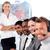 portret · manager · leidend · vertegenwoordiger · team · kantoor - stockfoto © wavebreak_media
