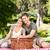 couple picnicking in the park stock photo © wavebreak_media