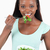 mulher · saudável · sorrindo · tigela - foto stock © wavebreak_media