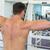 gömleksiz · adam · egzersiz · halter · spor · salonu - stok fotoğraf © wavebreak_media