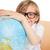 студент · обучения · география · мира · белый · бумаги - Сток-фото © wavebreak_media