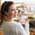 atrakcyjna · kobieta · zakupy · listy · okulary · supermarket - zdjęcia stock © wavebreak_media