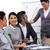 international business team interacting at a presentation stock photo © wavebreak_media