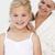 gülen · anne · saç · banyo · kadın · gülümseme - stok fotoğraf © wavebreak_media