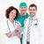 orvosok · megvizsgál · beteg · kórház · nő · gyógyszer - stock fotó © wavebreak_media