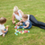 família · jogar · brinquedos · grama · feliz · mãe - foto stock © wavebreak_media