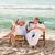 зрелый · человек · расслабляющая · палуба · Председатель · пляж · морем - Сток-фото © wavebreak_media