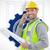 техник · план · изображение · мужчины · бумаги · человека - Сток-фото © wavebreak_media