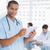 feminino · cirurgião · digital · comprimido · hospital · mulher - foto stock © wavebreak_media