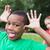 cute little boy making silly faces outside stock photo © wavebreak_media