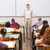 小さな · 教師 · 立って · ホワイトボード · 教室 · 眼鏡 - ストックフォト © wavebreak_media
