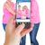 composite image of female hand holding a smartphone stock photo © wavebreak_media