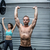 Muscular couple lifting weight together stock photo © wavebreak_media