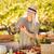 женщину · органический · овощей · рынке - Сток-фото © wavebreak_media