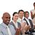 gelukkig · zakenlieden · vergadering · business · vrouw - stockfoto © wavebreak_media