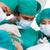 komoly · sebészek · műtét · kórház · férfi · orvosi - stock fotó © wavebreak_media