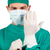 carismático · cirurgião · cirúrgico · luvas · branco - foto stock © wavebreak_media