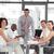 ビジネスマン · プレゼンテーション · 小さな · 背景 · スピーカー · 会議 - ストックフォト © wavebreak_media