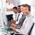 vrolijk · manager · leidend · vertegenwoordiger · team · kantoor - stockfoto © wavebreak_media