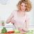 atrakcyjny · gotowania · warzyw · kuchnia · kobieta - zdjęcia stock © wavebreak_media