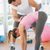 mężczyzna · jogi · instruktor · pomoc · kobieta · fitness - zdjęcia stock © wavebreak_media