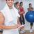 appunti · fitness · classe · ritratto - foto d'archivio © wavebreak_media