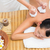 bruna · massaggio · donna · hotel - foto d'archivio © wavebreak_media