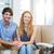 psycholoog · gelukkig · paar · kantoor · vrouw · man - stockfoto © wavebreak_media