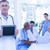 gülen · doktor · dizüstü · bilgisayar · pc · tıbbi - stok fotoğraf © wavebreak_media