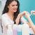 csinos · szög · technikus · manikűr · vásárló · szépségszalon - stock fotó © wavebreak_media