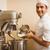 uśmiechnięty · ciasto · kucharz · kuchnia · ręce · restauracji - zdjęcia stock © wavebreak_media