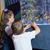 pequeno · irmãos · olhando · peixe · tanque · aquário - foto stock © wavebreak_media