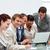 aantrekkelijk · zakenman · werken · team · laptop · business - stockfoto © wavebreak_media