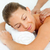quiet woman enjoying a massage stock photo © wavebreak_media