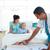 médico · salvavidas · aislado · blanco · salud · hombres - foto stock © wavebreak_media