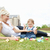 família · sorridente · mãe · filha · jardim - foto stock © wavebreak_media