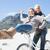 unbeschwert · Paar · Fahrrad · Strand · hellen · cool - stock foto © wavebreak_media