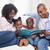 человека · два · детей · сидят · гостиной · чтение - Сток-фото © wavebreak_media